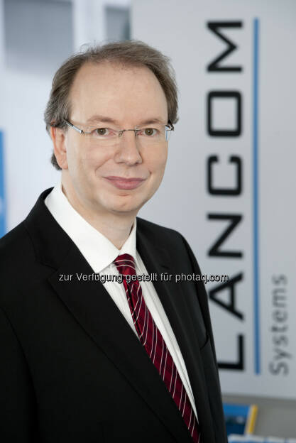 Ralf Koenzen (Geschäftsführer LANCOM Systems) : LANCOM Systems präsentiert die Studie Digitale Souveränität - Einschätzungen in der deutschen Wirtschaft und Verwaltung : © LANCOM Systems , © Aussender (22.07.2015)