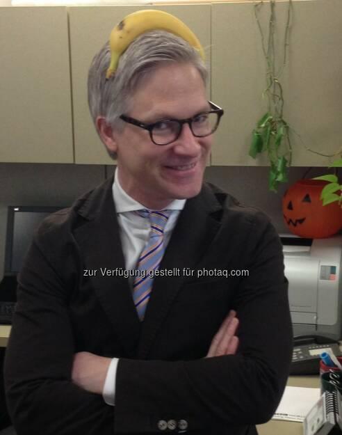 Markus Koch, Fernsehjournalist Börse, für Frisurentrend Business Typ - Bananing (14.03.2013)