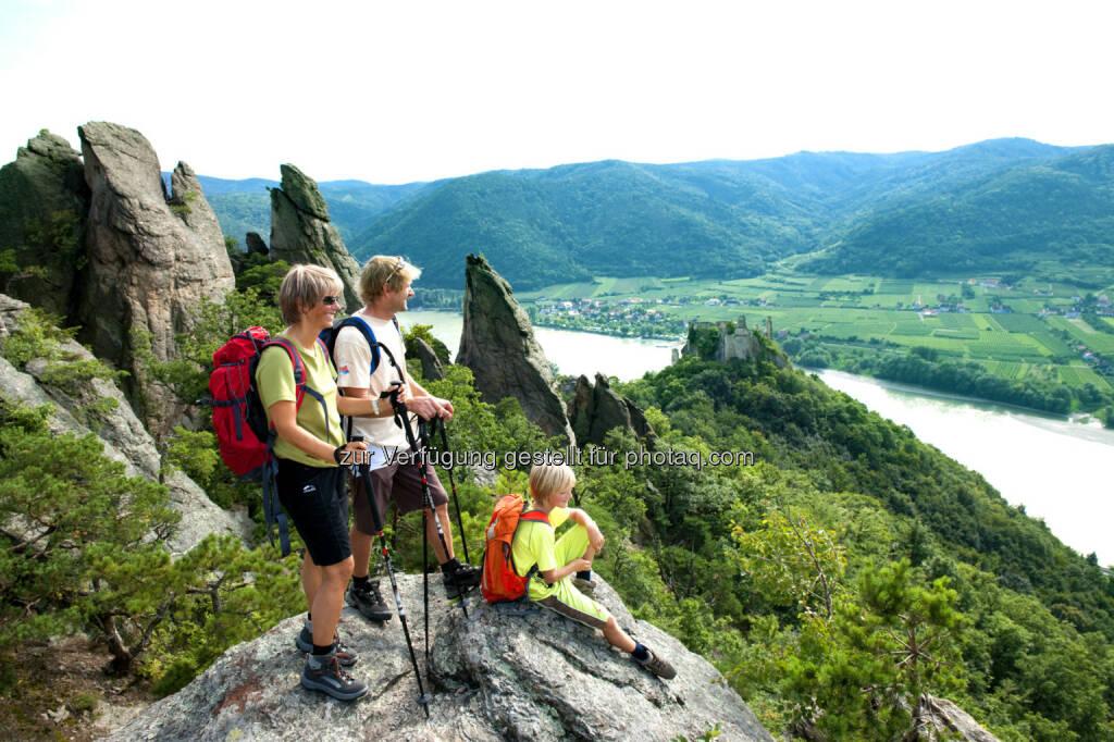 Wandern am Welterbesteig Wachau : Wanderherbst auf den Best Trails of Austria : Fotograf: Robert Herbst/Fotocredit: Niederösterreich Werbung/Robert Herbst, © Aussender (30.07.2015)