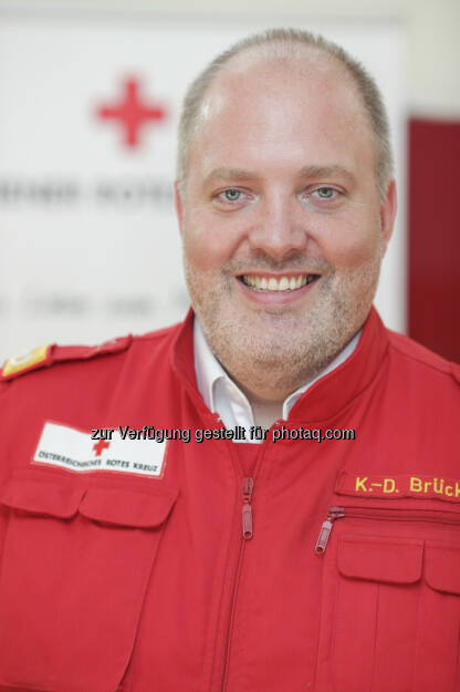 Karl-Dieter Brückner : Neuer Landesrettungskommandant für Wiener Rotes Kreuz : © Markus Hechenberger , © Aussendung (30.07.2015)