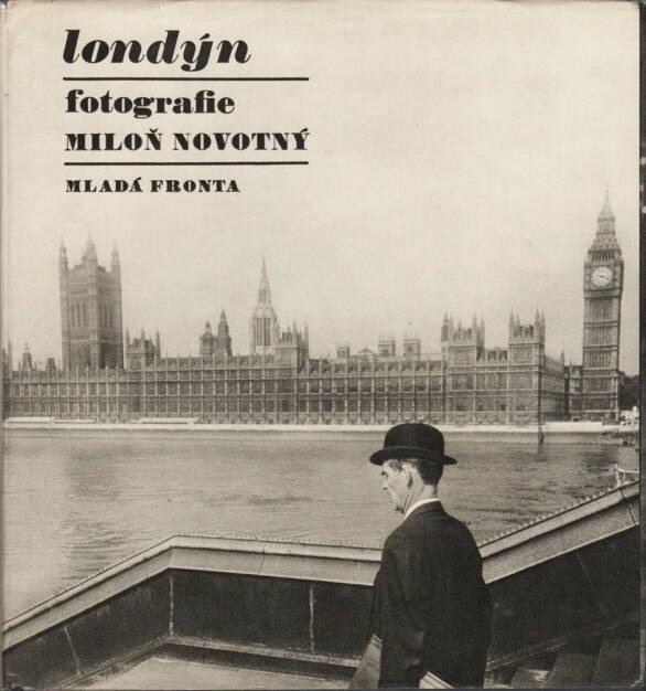 Miloň Novotný - Londýn (London), Mladá fronta 1968, Cover - http://josefchladek.com/book/miloň_novotny_-_londyn, © (c) josefchladek.com (31.07.2015)
