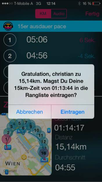 Runplugged Runclub: Läuft man länger als 5k, 10k, 15k, HM, 30 oder M, kommt die Frage, ob man eintragen will (01.08.2015)