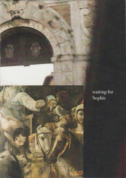 Ana Zaragoza - Waiting for Sophie, Caravanbook 2015, Cover - http://josefchladek.com/book/ana_zaragoza_-_waiting_for_sophie, © (c) josefchladek.com (03.08.2015)