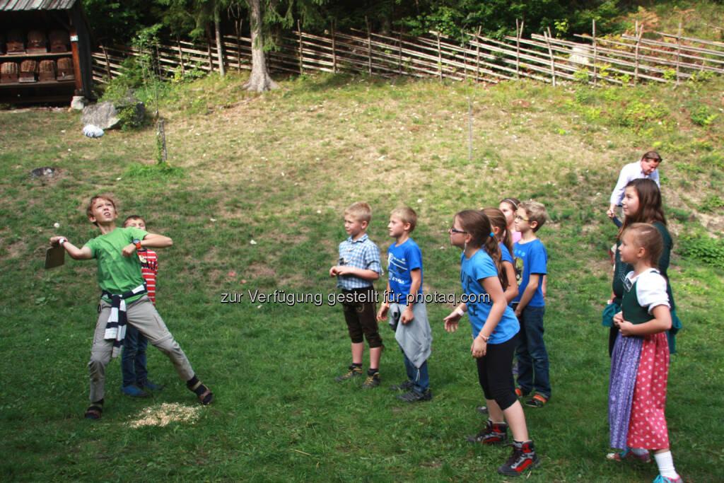 Österreichischen Freilichtmuseum Stübing: Spielen leicht gemacht : Aktionstag rund ums Spielen am 9.8.2015 : Fotocredit: ÖFM Stübing , © Aussender (04.08.2015)