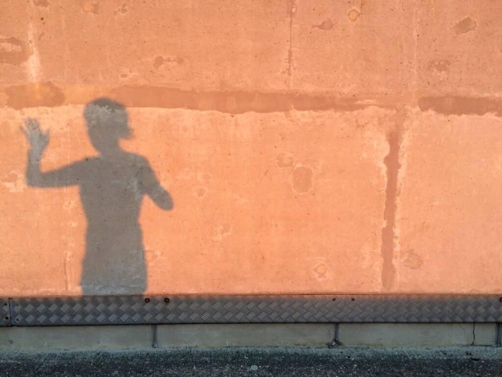 winken, Schatten, © Martina Draper (05.08.2015)