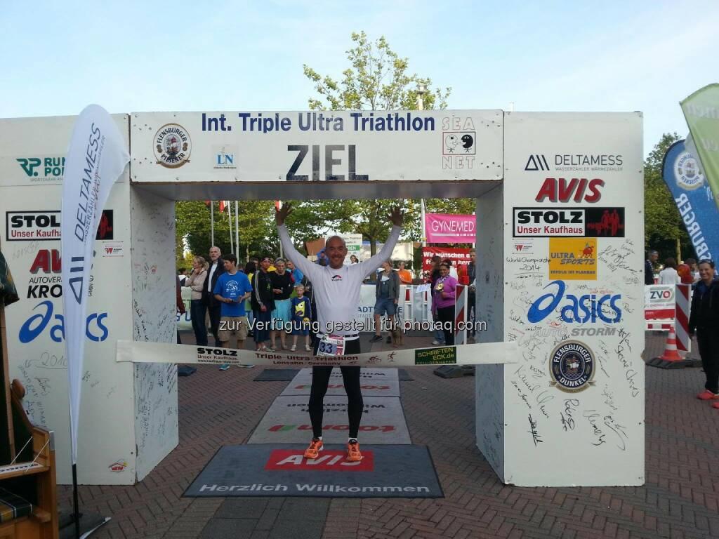 Philipp Mayer : Triple-Ultra-Triathlon im Rogner Bad Blumau : 7. – 10. Juli 2016 : © TSV Lensahn von 1924e.V., © Aussendung (06.08.2015)