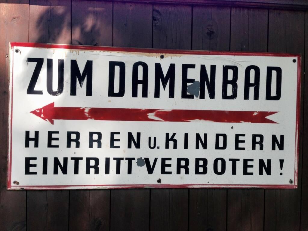 Damen Damenbad Frau (10.08.2015)