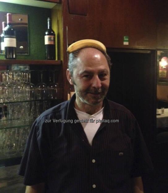 Mustafa Hadi, Pizzeria Valentino, für Frisurentrend Business Typ - Bananing (14.03.2013)