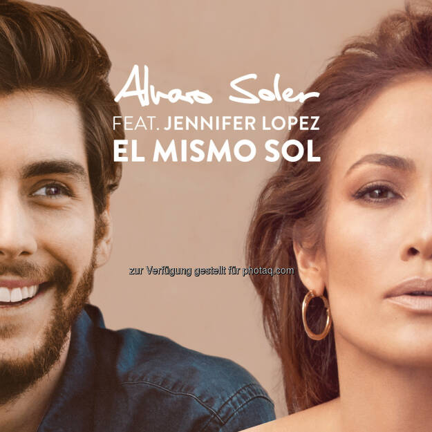 Alvaro Soler feat. Jennifer Lopez: Worldstar Upgrade für Hitsingle El Mismo Sol (C) Universal Music Entertainment GmbH, © Aussender (16.08.2015)