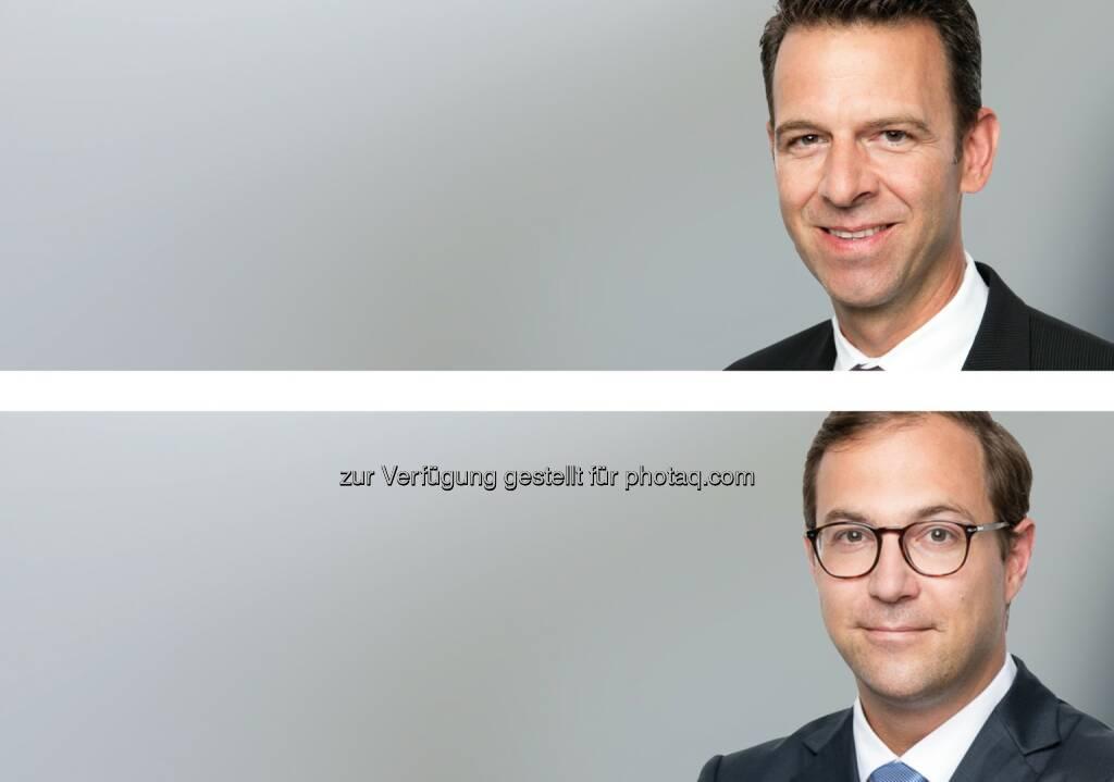 Balz A. Gut (o), Benjamin Rohrmann (u) : Synpulse Management Consulting holt ehemalige Senior Manager der Credit Suisse ins Team : Verstärkung der Bereiche Digital Banking, Advisory und Compliance : © Fotograf: Synpulse Schweiz AG/Fotocredit: obs/Synpulse Schweiz AG, © Aussendung (17.08.2015)
