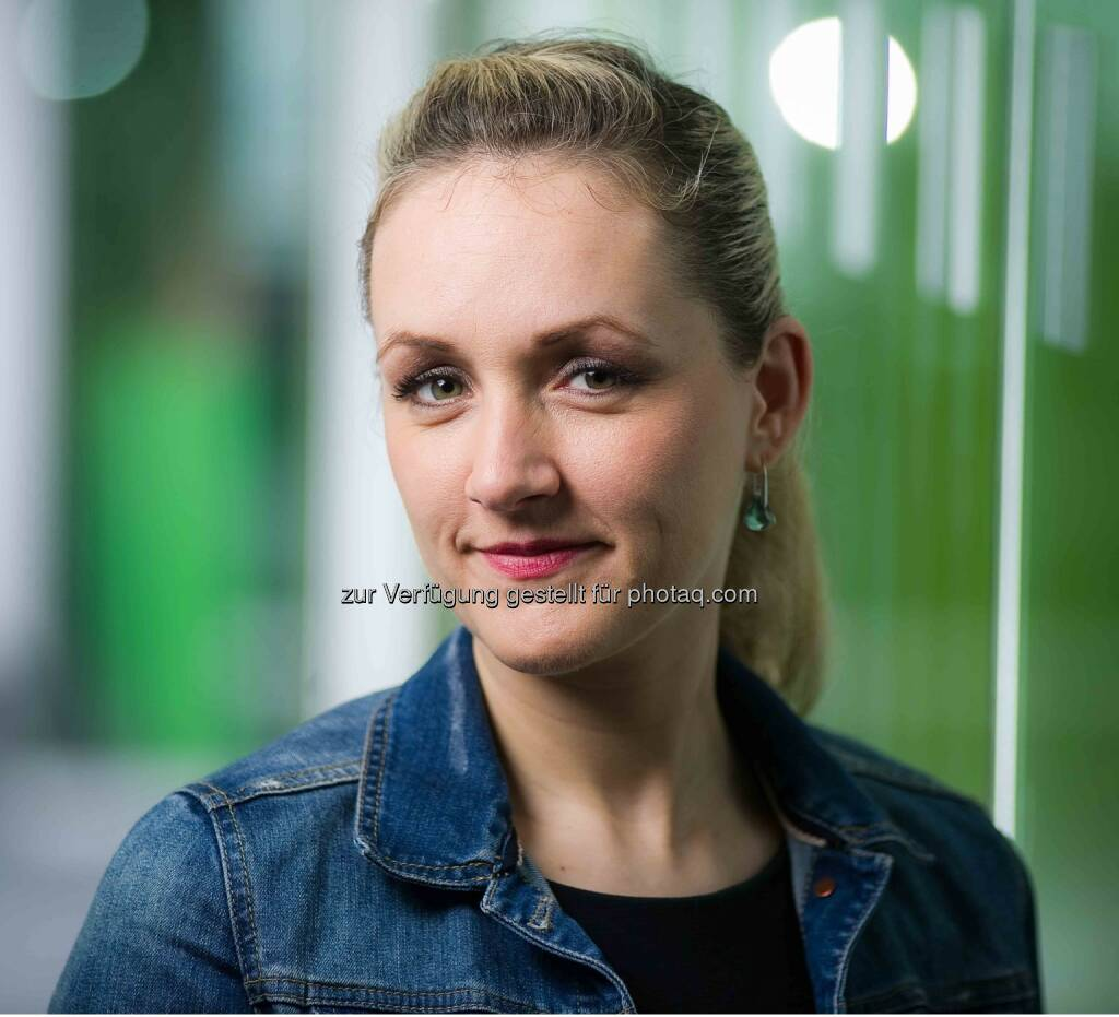 Daniela Klinser : Neue Pressesprecherin der Sozialversicherung der gewerblichen Wirtschaft (SVA) : Die gebürtige Steirerin folgt in dieser Funktion Patricia Gassner nach, die sich in Karenz befindet : © Fotograf: Andi.Bruckner/Fotocredit: Bruckner, © Aussendung (18.08.2015)