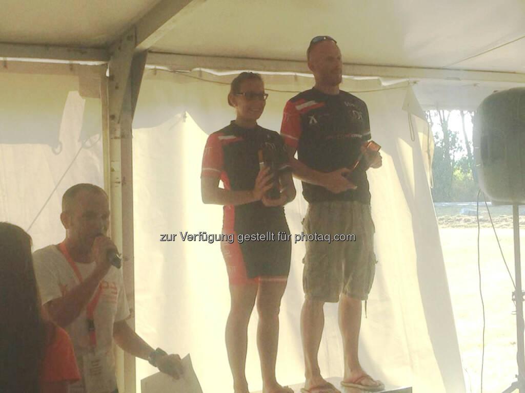 Martina Kaltenreiner, Siegerehrung, P3 Cup Sieger 2015 (Neufeld Sprint + Olympisch, Marchfeld Olympisch) (19.08.2015)