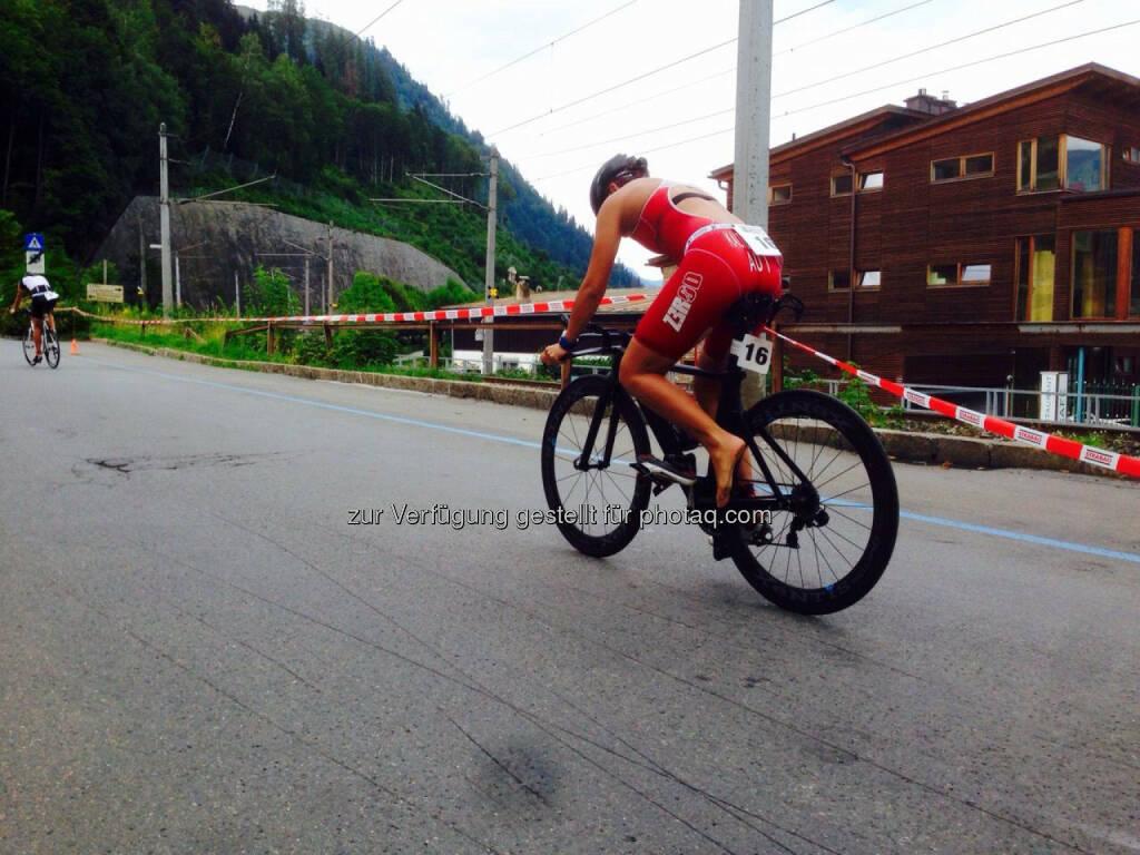 Bike Tri Zell 2015, Martina Kaltenreiner, Radfahren, Triathlon (19.08.2015)