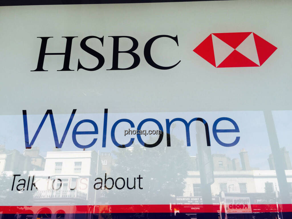 HSBC, Welcome, © photaq.com (23.08.2015)