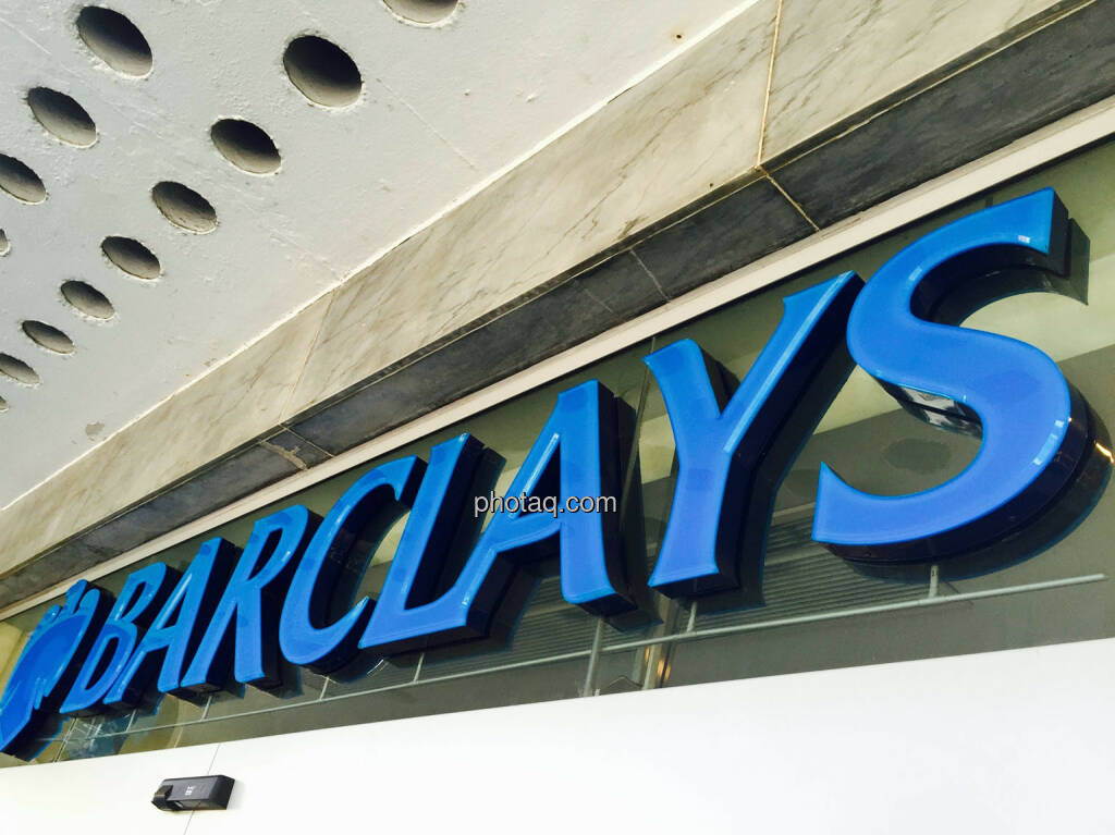 Barclays, Logo, © photaq.com (23.08.2015)