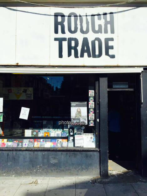 Rough Trade Records London, Musik, CD, Platten, © photaq.com (23.08.2015)