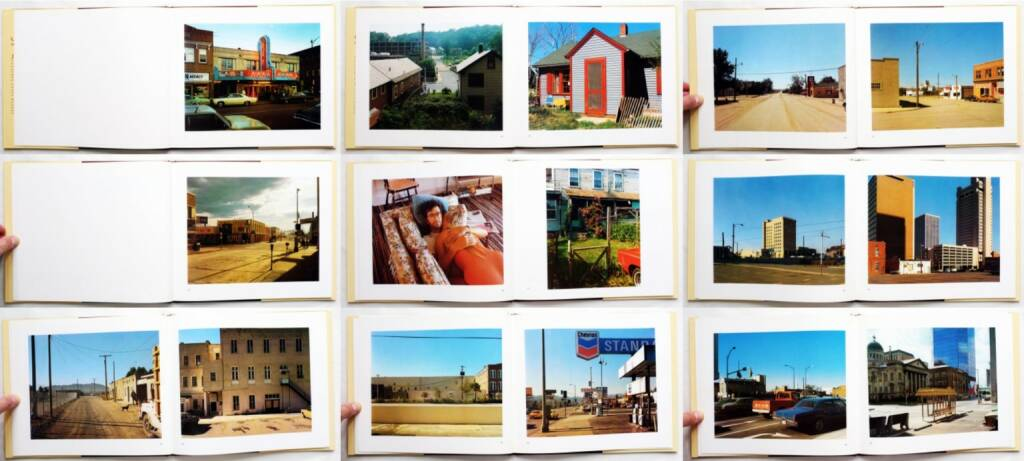 Stephen Shore - Uncommon Places, Aperture 1982, Beispielseiten, sample spreads - http://josefchladek.com/book/stephen_shore_-_uncommon_places, © (c) josefchladek.com (28.08.2015)