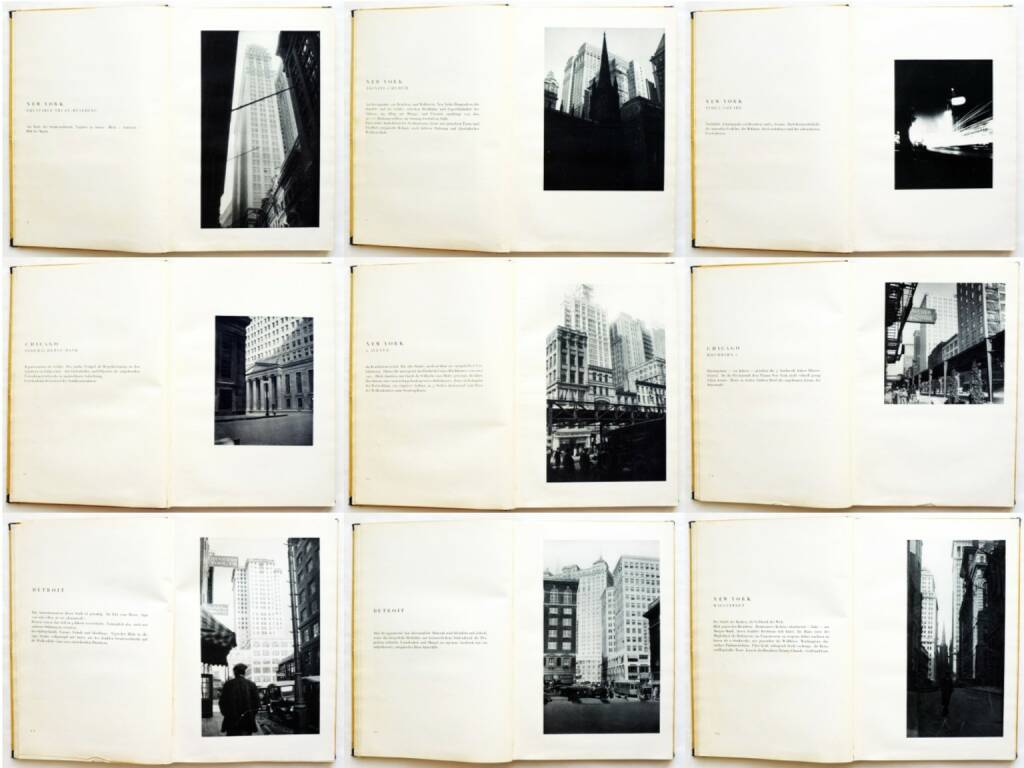 Erich Mendelsohn - Amerika: Bilderbuch eines Architekten, Rudolf Mosse Buchverlag 1926, Beispielseiten, sample spreads - http://josefchladek.com/book/erich_mendelsohn_-_amerika_bilderbuch_eines_architekten, © (c) josefchladek.com (30.08.2015)