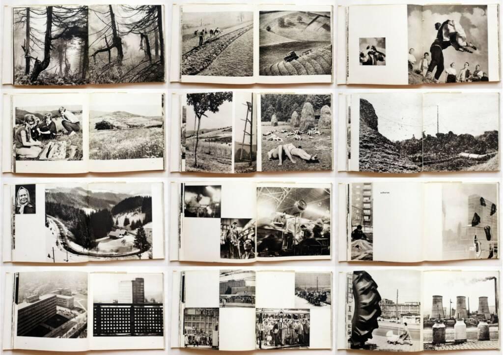 Vilém Reichmann, Jaromír Tomeček, K.O. Hrubý - Valašská Suita, Blok 1966, Beispielseiten, sample spreads - http://josefchladek.com/book/vilem_reichmann_jaromir_tomeček_ko_hruby_-_valašska_suita, © (c) josefchladek.com (01.09.2015)