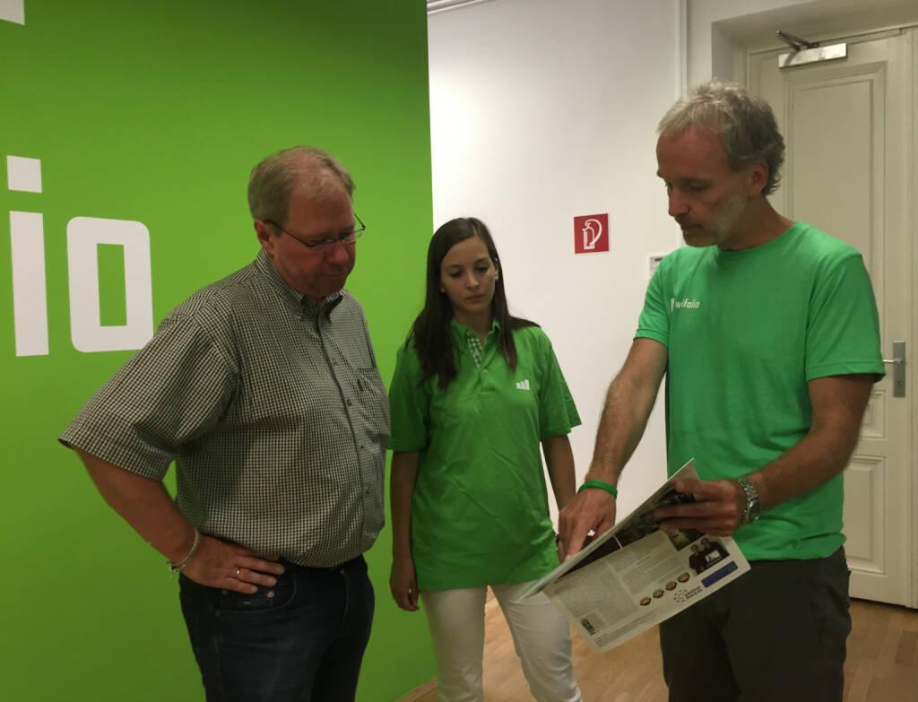 Mit Social Trading Blog Award Gewinner Paul Pleus und Anja Branz (wikifolio)  (01.09.2015)