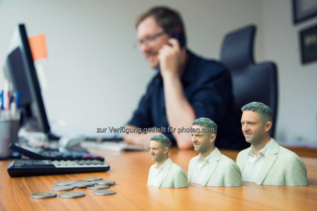 Duwidu werden die 3D Figuren von 3D Elements genannt - sie sind einzigartige Erinnerungsstücke : 3D Elements präsentiert revolutionäres 3D Fotostudio auf der IFA : Fotocredit: 3D Elements, © Aussendung (03.09.2015)