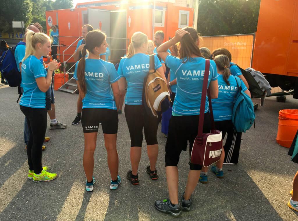 Vamed beim Wien Energie Business Run 2015 (03.09.2015)