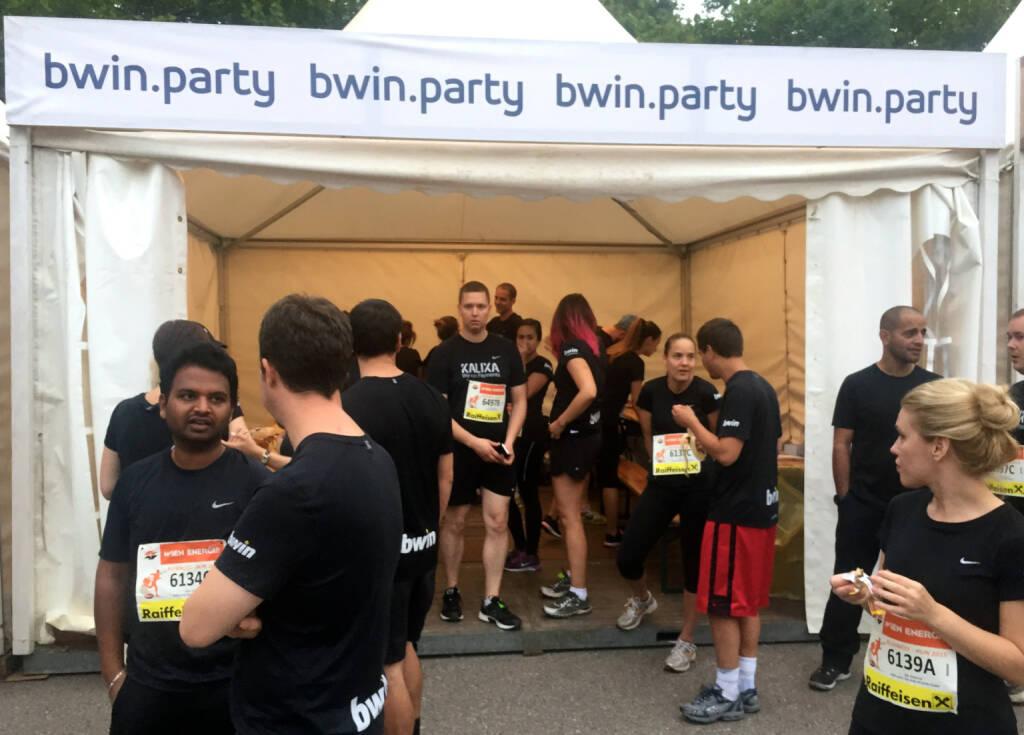 bwin.party beim Wien Energie Business Run 2015 (03.09.2015)