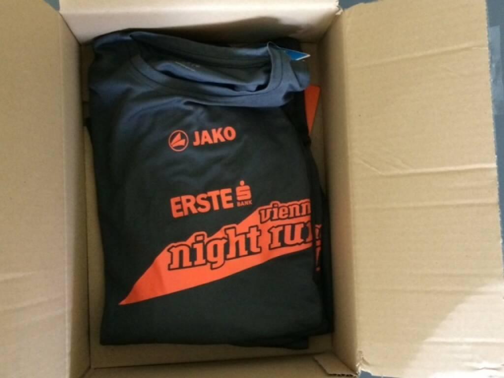 Das Shirt des Vienna Night Run 2015, © Aussendung (04.09.2015)