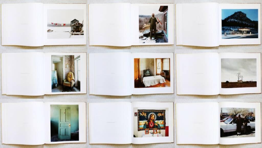 Alec Soth - Sleeping by the Mississippi, Steidl 2004, Beispielseiten, sample spreads - http://josefchladek.com/book/alec_soth_-_sleeping_by_the_mississippi, © (c) josefchladek.com (05.09.2015)