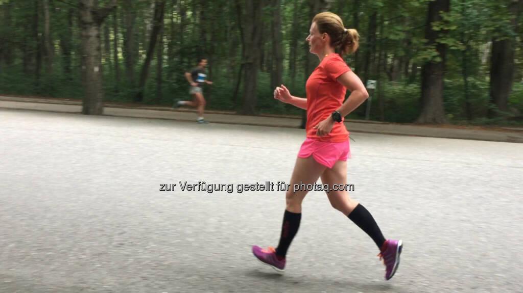 laufen, Prater Hauptallee, Babenbergerlauf, © Martina Draper (06.09.2015)