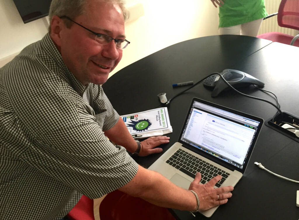 Paul Pleus, Gewinner von smeil-award.com, checkt die wikifolio whispers (09.09.2015)