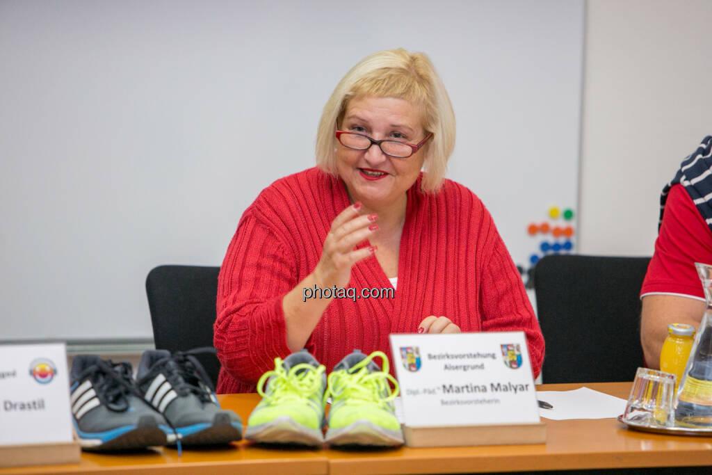 Martina Malyar (Bezirksvorsteherin Alsergrund), © photaq/Martina Draper (10.09.2015)
