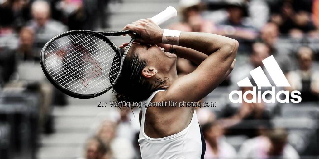 adidas - Seize the moment when they least expect it. Flavia Pennetta is the 2015 U.S. Open champion.  Source: http://facebook.com/adidas, © Aussendung (13.09.2015)
