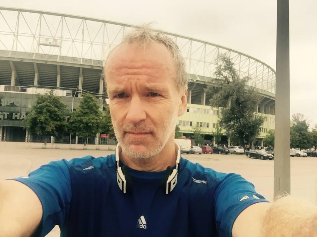 Nach dem Stundenlauf ist vor dem Happel-Stadion (13.09.2015)