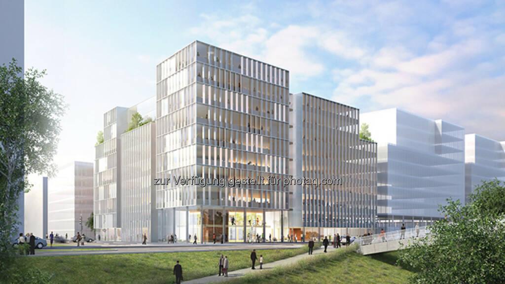 CA Immo baut Bürogebäude an der Erdberger Lände, © Aussendung (16.09.2015)
