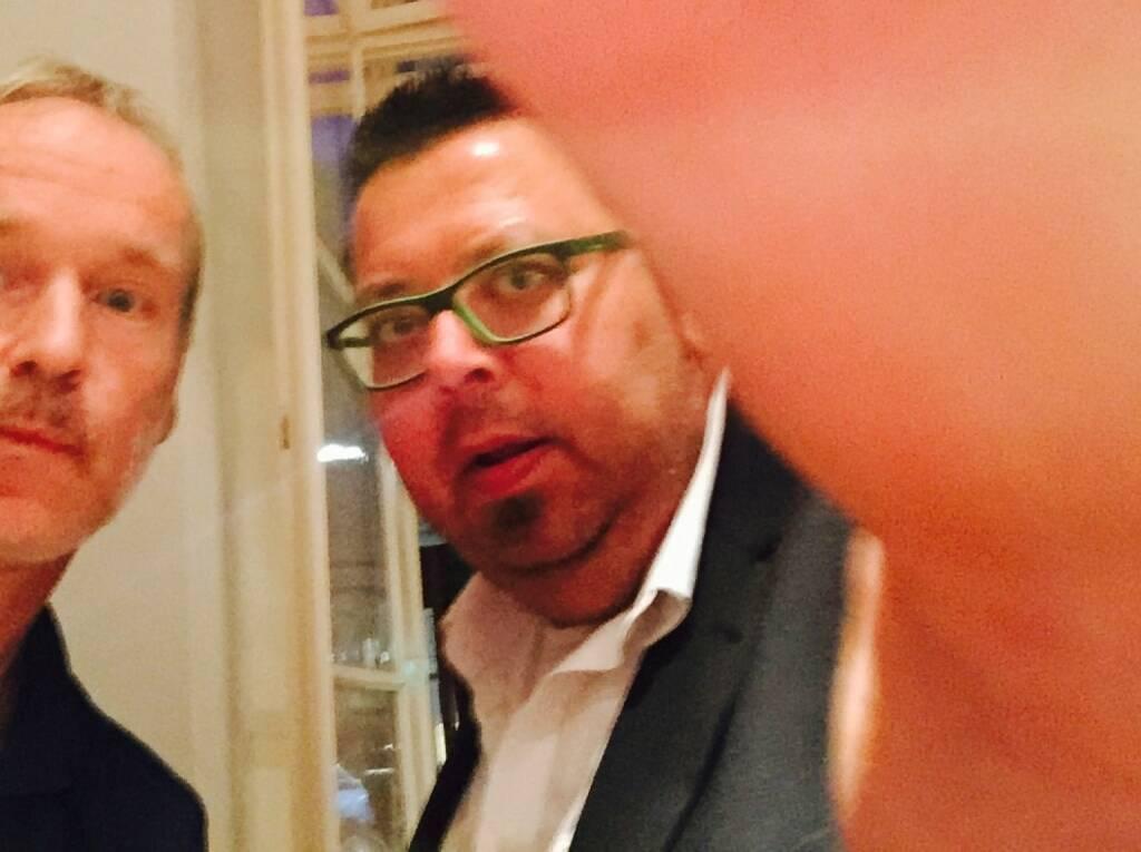 Mit Society Reporter Thomas Netopilik beim Tristyle Opening (18.09.2015)