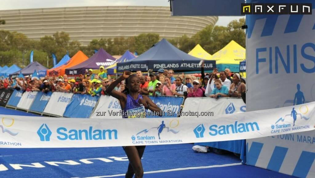 Kapstadt Marathon, © Gerhard Böhm aus Kapstadt für MaxFun Sports (27.09.2015)