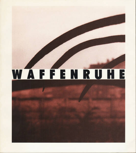 Michael Schmidt - Waffenruhe, Nishen 1987, Cover - http://josefchladek.com/book/michael_schmidt_-_waffenruhe, © (c) josefchladek.com (28.09.2015)