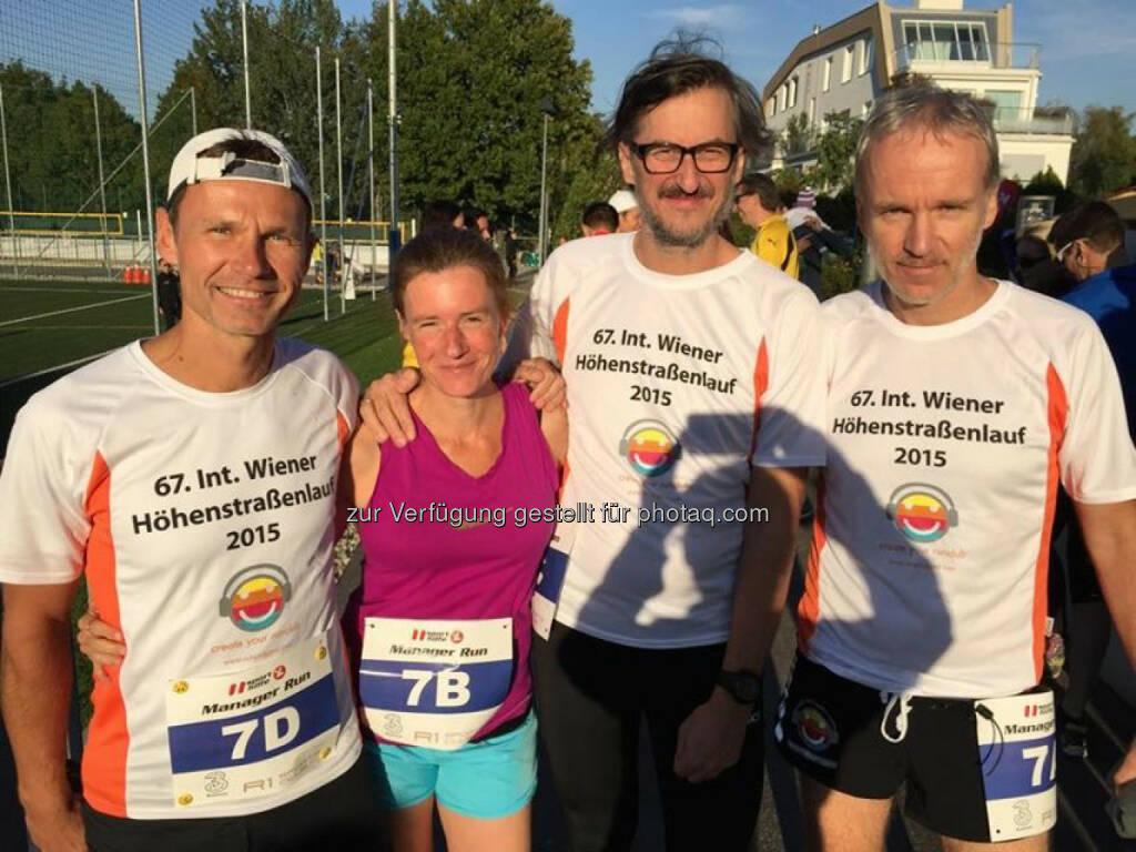 Andreas Schweighofer, Martina Draper, Josef Chladek, Christian Drastil, © Martina Draper (29.09.2015)