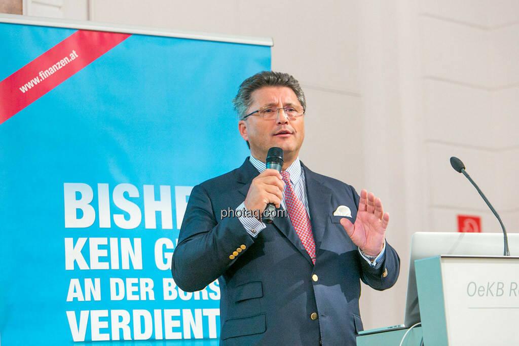 Karl-Heinz Strauss (Porr), © photaq/Martina Draper (01.10.2015)