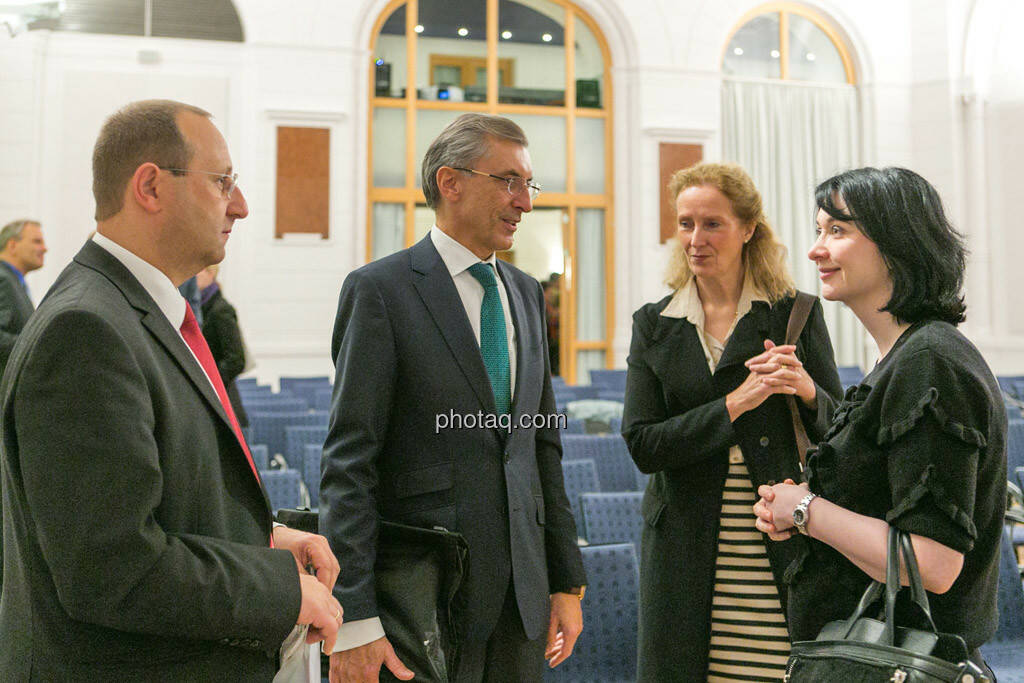 Paul Rettenbacher (Polytec), Thomas Birtel (Strabag), Diana Klein (Strabag), © photaq/Martina Draper (01.10.2015)