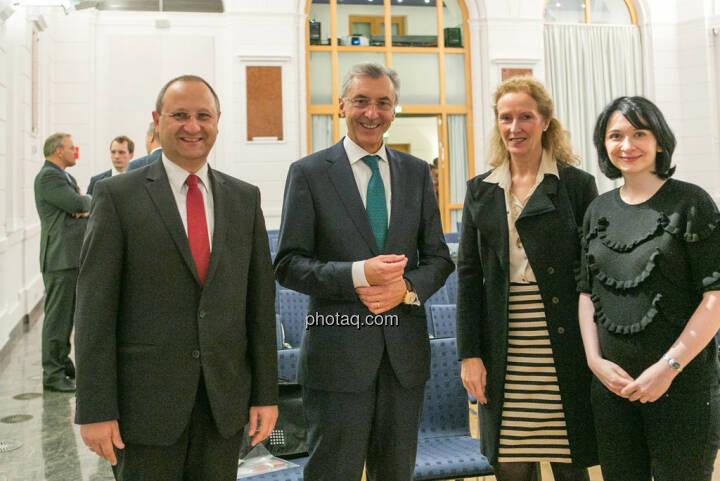 Paul Rettenbacher (Polytec), Thomas Birtel (Strabag), Diana Klein (Strabag)
