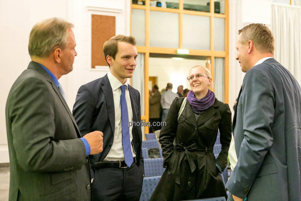 Andreas Feuerstein, Leonhard Steinmann, Angelika Scheid, Friedrich Wachernig (S Immo), © photaq/Martina Draper (01.10.2015)