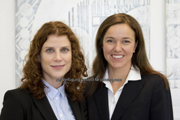 Katerina Schenkova, Anita Lukaschek :  seit 1. Oktober Verstärkung für das Kartellrechtsteam von Baker & McKenzie in Wien : Fotocredit: Baker & McKenzie/Unterberger