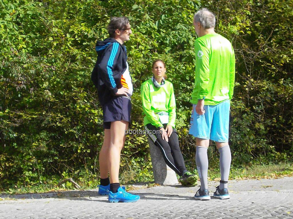 Josef Chladek, Christina Oehler (Wikifolio), Christian Drastil, © Ludwig Hartweger/photaq (04.10.2015)