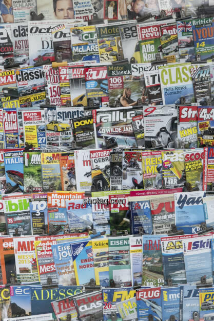 Zeitungen, Medien, © Martina Draper (21.02.2013)