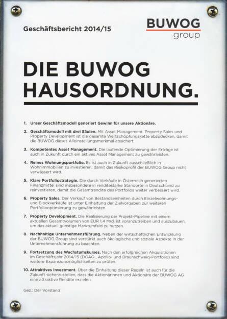 Buwog Geschäftsbericht 2014/15 - http://boerse-social.com/financebooks/show/buwog_geschaftsbericht_2014-15 (05.10.2015)