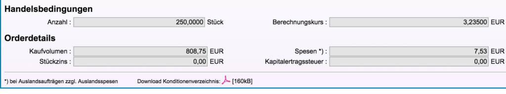 Tag 66: Kauf 250 Valneva zu 3,235 (06.10.2015)