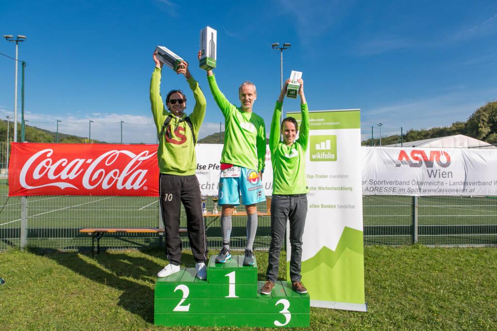 Rang 1 bei Österreichs schnellster Trader, veranstaltet von wikifolio.com. Ich konnte mit 18:45 auf 5 km Daniel Nisters (Lang & Schwarz) und Julian Pachernegg (wikifolio) knapp schlagen  (06.10.2015)