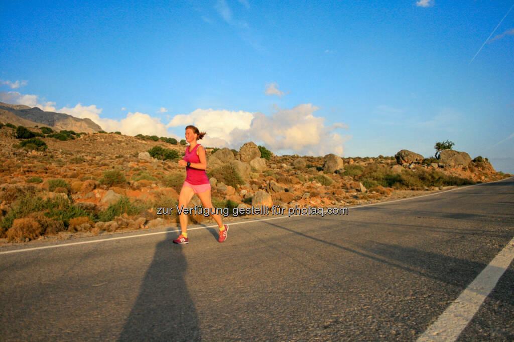 laufen, Kreta, Griechenland, © Martina Draper (09.10.2015)